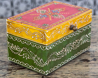 Gypsy Jewellery Box Green