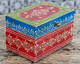 Gypsy Jewellery Box Red