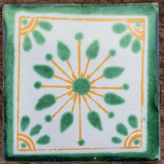 Jardin Green Tile