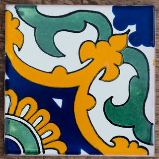 Capri Tile blue