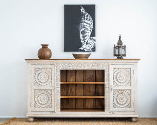 Pondicherry Tall TV Cabinet or Sideboard