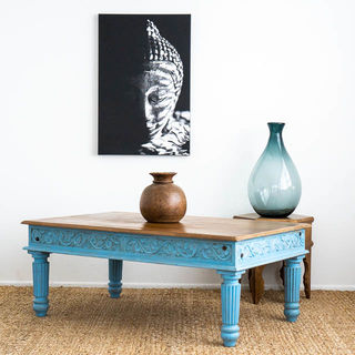 Krisha Coffee Table Blue