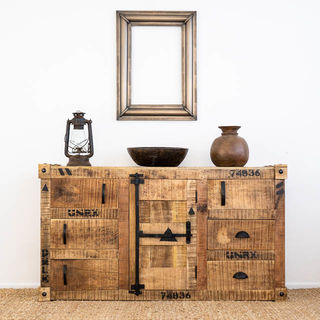 Industrial Container Sideboard