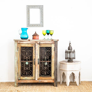 Jali 2 Door Sideboard B