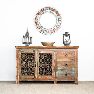Jali Sideboard or TV Cabinet C