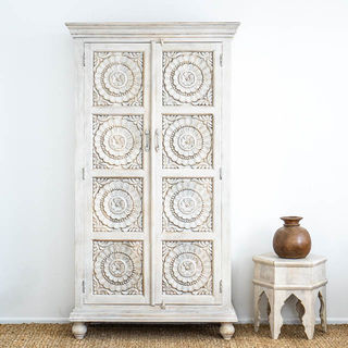 Pondicherry Tallboy White