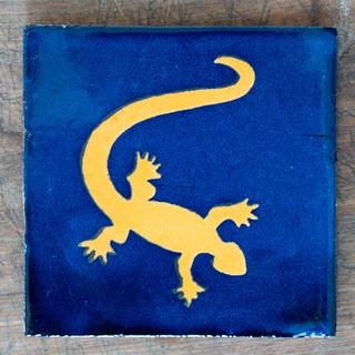 Gecko Tile Blue