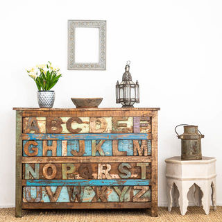 ABC Rustic Drawers