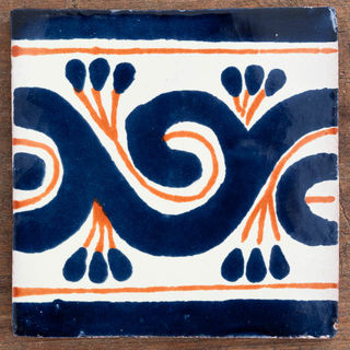 Gousano Tile Blue & Red
