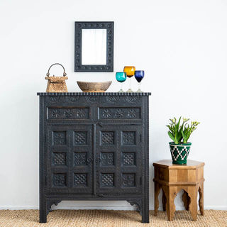 Wanderlust Sideboard Medium Charcoal