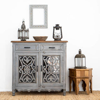 Harper Sideboard Small Grey BACK ORDER