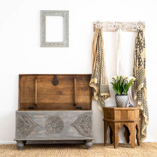 Anouk Blanket Box Grey