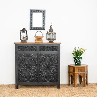 Goa Sideboard Medium Charcoal