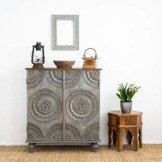 Indira Medium Sideboard Grey
