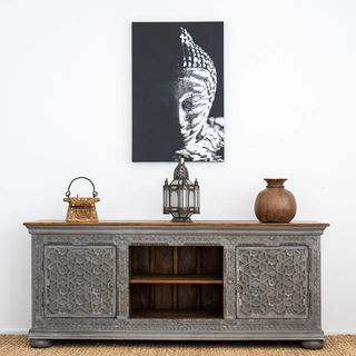 Aabha TV Cabinet or Sideboard Grey