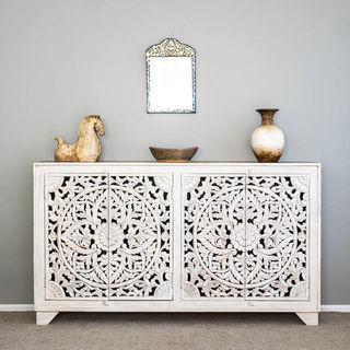 Celestia Sideboard Large White