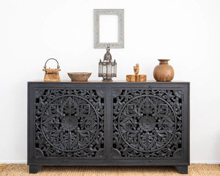 Celestia Sideboard Large Charcoal