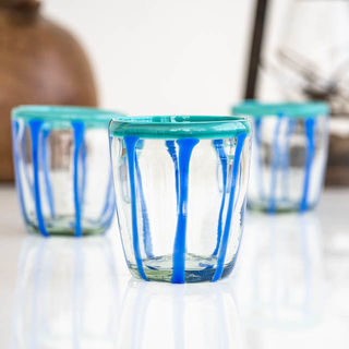 Harper Glass Azul