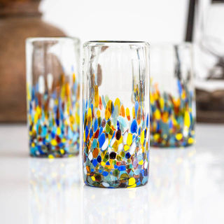 Summer Confetti Highball Glass