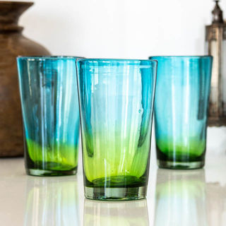 Aura Emerald Tall Glass