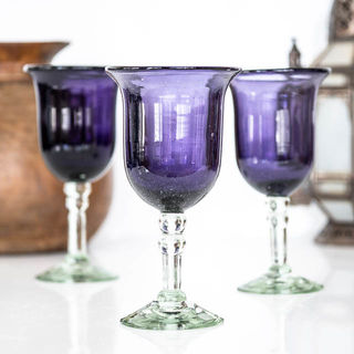 Saga Purple Goblet