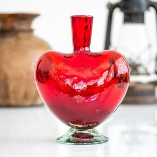 Red Heart Bottle