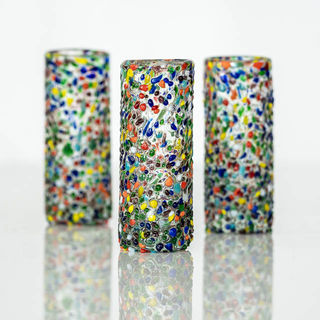 Fiesta Confetti Shot Glass