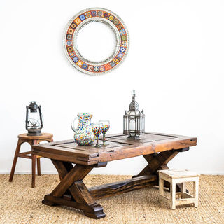 Tulum Mezquite Coffee Table