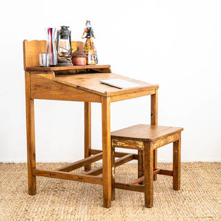 Santiago Mexican Desk & Stool