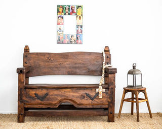 Campeche Mezquite Bench Seat