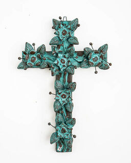 Large Boho Mexican Cross