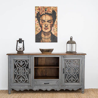 Harper TV Cabinet or Low Sideboard Grey