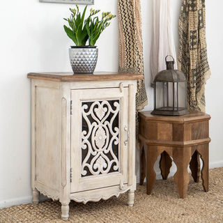 Harper Bedside Table White