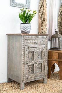 Wanderlust Side Table Grey