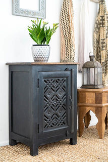Ananya Bedside Table Charcoal