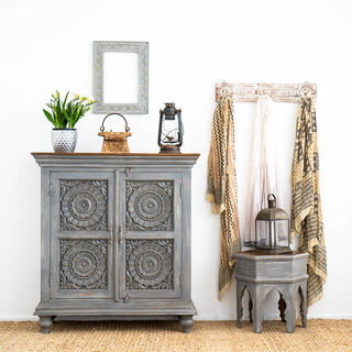 Pondicherry Sideboard Small Grey