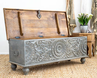 Serendipity Blanket Box Grey