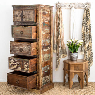 Rathi 5 Drawer Tower B