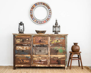 Boho Rustic 9 Drawers C