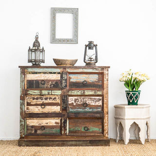 Boho Rustic 6 Drawers B