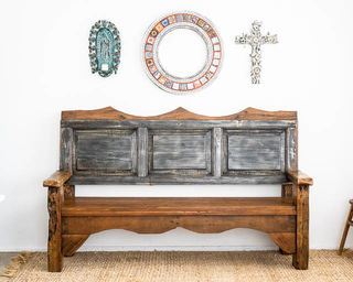 Huge Puebla Bench Seat