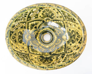 Medium Talavera Hand Basin 24