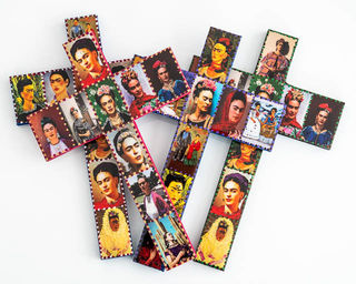 Frida Kahlo Cross