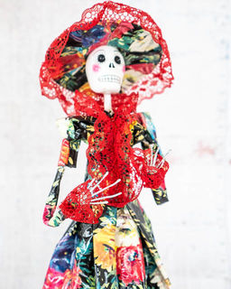 Paper Mache Day of the Dead Flora