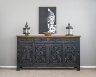 Bohemian Sideboard Large Charcoal