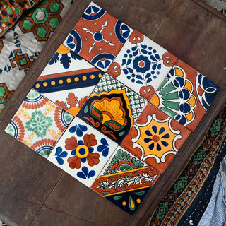9 Pack Mexican Tiles Autumn Pack
