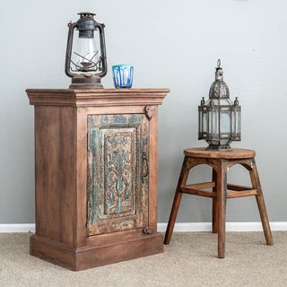 Rustic Indirah Bedside Table