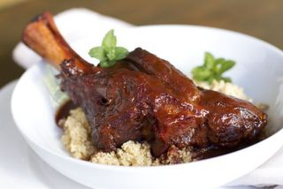 Lamb Shank and Prune Tagine
