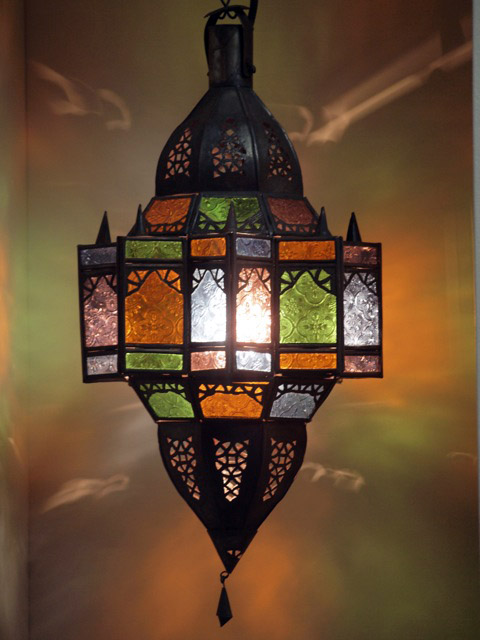 Mkanta Lantern Large - Colour