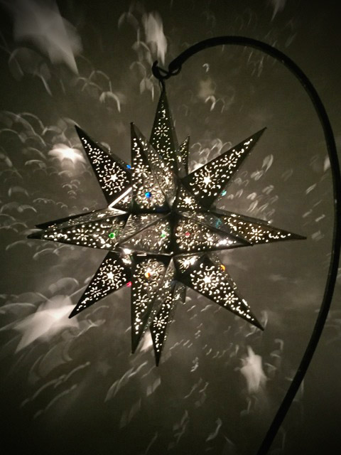 Large Mexican Tin Star Lantern Furniture Lighting Decor